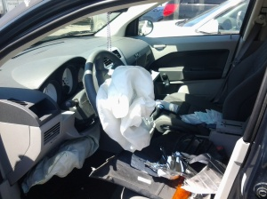 Full Airbag Deployment
