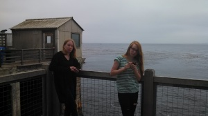 Molly and Nora on the Pier