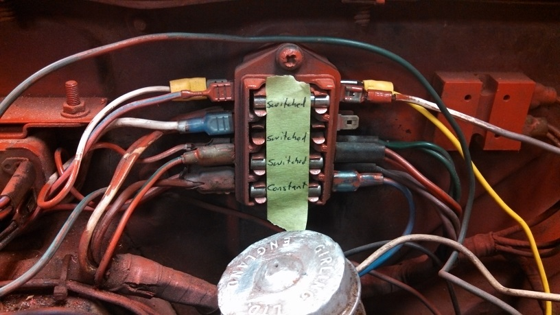 Tr6 Fuse Box Diagram Wiring Diagram