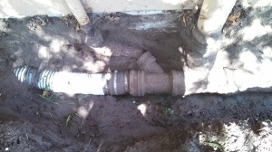 Old Corrugated pipe