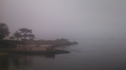 Fog over Lovers Point