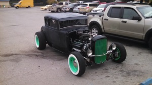 Nice little rod in the parking lot